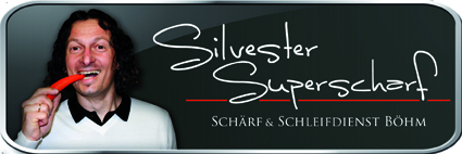 Silvester Superscharf Logo