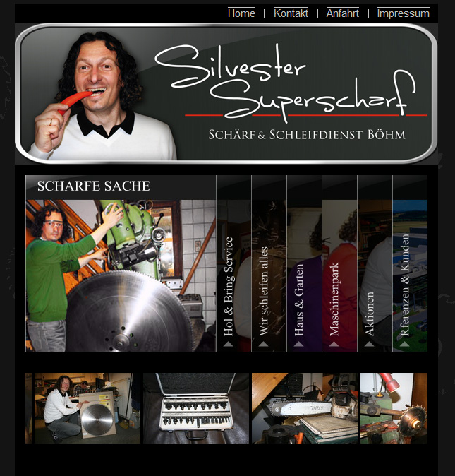 Silvester Superscharf Homepage